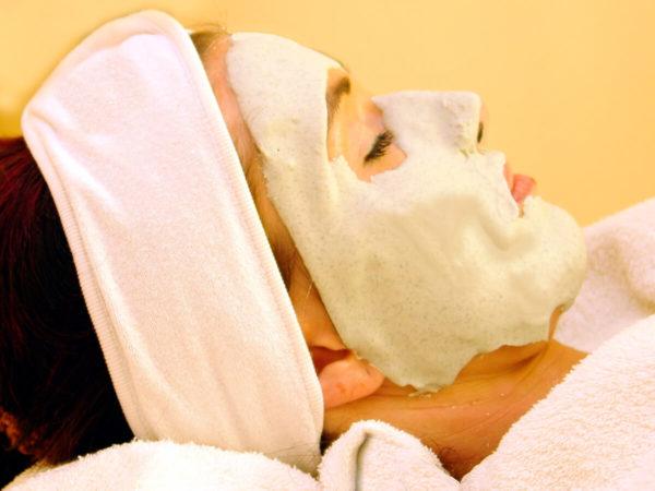 Peel Off Maske seitlich